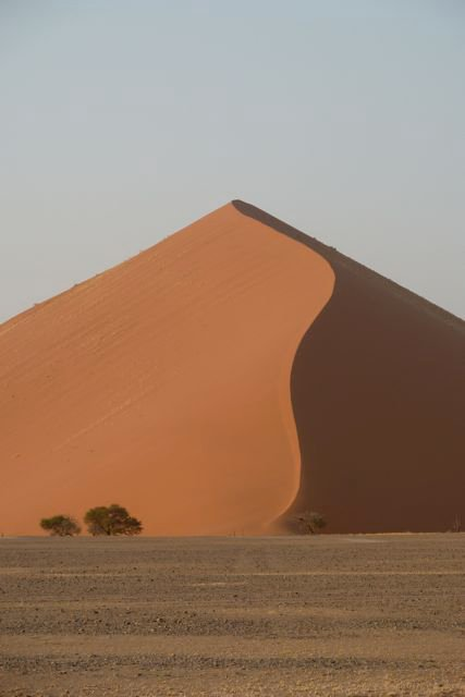 A-red-sand-dune-on-a-freezing-morning