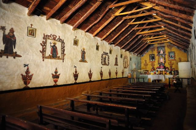 Inside-the-Susque-church-with-its-dirt-floor-and-w